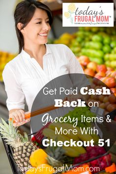Get paid cash back on your grocery and non-grocery items from the new Checkout 51 app! Sign up and start earning cash today! :: Today's Frugal Mom™
