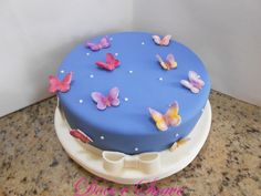 bolos de aniversario infantil borboletas - Pesquisa Google