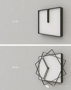 """【极简主义】70款简约时尚的时钟设计,回复""""140524"""",收获下载。"""