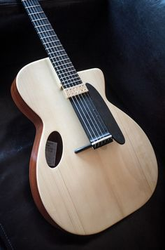 A very innovative NK Forster Archtop Guitar
