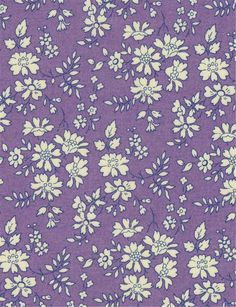 Capel V Liberty London Tana Lawn fabric by MaryandLurline on Etsy Liberty Art Fabrics, Liberty Of London Fabric, Liberty Print, Textiles, Textile Patterns, Print Patterns, Motif Floral, Floral Prints, Ditsy Floral