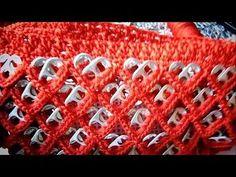 Bolsa a Crochet con anillas formando Corazones - YouTube Can Tab Crafts, Diy And Crafts, Pop Tab Purse, Soda Tabs, Pop Cans, Crochet Handbags, Couture, Dory, Macrame