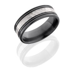 8MM BLACK ZIRCONIUM WEDDING BAND. COMFORT FIT WITH LIFETIME WARRANTY, available in sizes ranging from 2-18 in whole, half & quarter sizes. Custom made for 2-12mm widths.