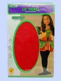 Child Tights Red Large