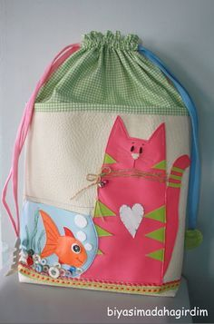 Neat idea for cat applique