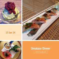 Omakase dining