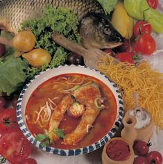 Fish Soup, Fish Dishes, Chana Masala, Stew, Favorite Recipes, Meals, Ethnic Recipes, Food, Meal