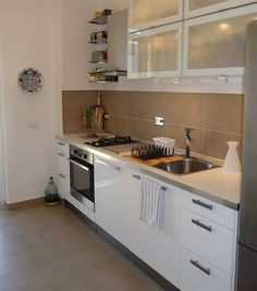 Elisabetta's sleek white IKEA kitchen in Italy | live from IKEA FAMILY