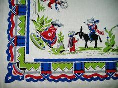 Southwest Vintage Tablecloth