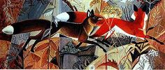 Foxes and Fall Weeds  The World Of Dahlov Ipcar