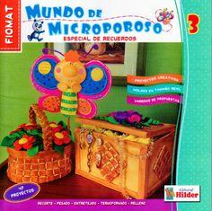 Revistas de manualidades Gratis: Como hacer recuerdos en microporoso