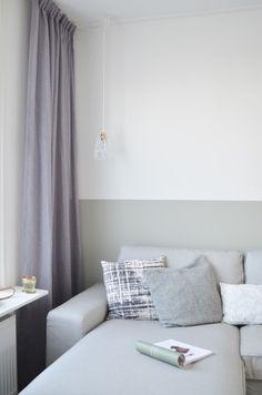 Kiezelgroen Flexa Expert, de definitieve kleur voor de woonkamer
