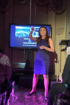 Eve Li; the founder of the East Meets West Club was up after Andrew and captured the energy of the evening