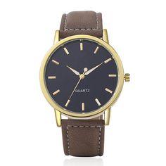 Men Watches High Quality Watch Fashion Luxury Leather Watch Quartz Wristwatch