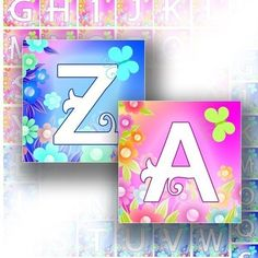 Digital collage sheet 1x1 inch art alphabet letters for scrabble tiles images jewelry making paper supplies download