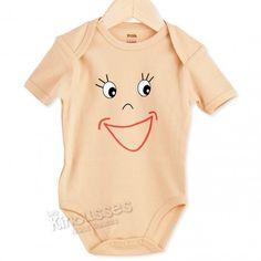 Body Smiley #body #bebe #verano #smiley #sonrisa #naranja #kinousses