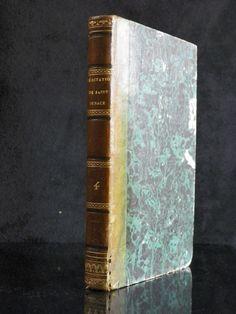 """Livre religieux  """" Méditations sur les mystères de Jésus-Christ"""" par SAINT-IGNACE   Tome 4    Librairie Catholique France 1844 de la boutique LovelyFrenchBooks sur Etsy"""