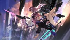 Check out this epic Megadimension Neptunia VII fanart! #Videogames #Anime #Artwork