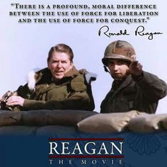 President Reagan looks across the DMZ at Guard Post Collier, South Korea . Greatest Presidents, American Presidents, Us Presidents, 40th President, President Ronald Reagan, Ronald Reagan Quotes, Great Quotes, Inspirational Quotes, Patriotic Pictures
