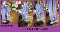 Gypsy / Hippie Pantaloons Womens by TheFunkyGypsy on Etsy, $65.00