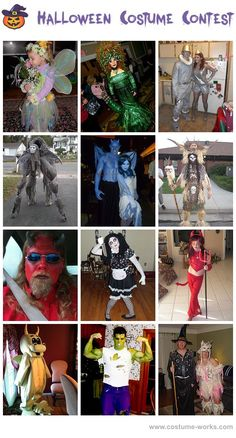 Fictional Character Costumes - a huge gallery of homemade Halloween costumes! via @costume_works