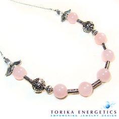 Angels Linen Rose Quartz Christmas Holiday by TorikaEnergetics, $27.00