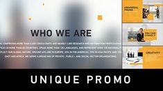 Unique Promo v1 | Corporate Presentation by Red_Case on Envato Elements