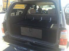 3rd Gen 4Runner Cargo Box and Sleeping Platform - folds down when back seats are up Yotatech for sale forums