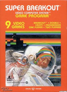 Atari 2600 Box Art - The Best Video Game Media - Retro Games Now.....................................Please save this pin.   ............................................................. Click on the following link!.. http://www.ebay.com/usr/prestige_online