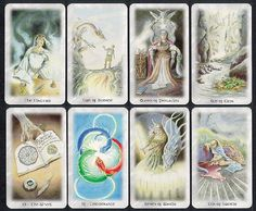 The Celtic Dragon Tarot Deck & Book Set  by D.J. Conway & Lisa Hunt