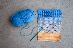 Learn how to combine crochet stitch patterns by meshing crochet with basic math. It's easy!