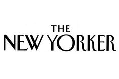 The New Yorker logo/font