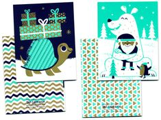 Tad Carpenter: 2011 Holiday Paper Goods