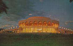 Grady Gammage Memorial Auditorium - Tempe, Arizona by The Pie Shops Collection, via Flickr
