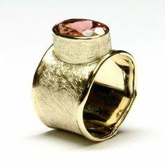 pierscionek z turmalinem Napkin Rings, Gemstone Rings, Gemstones, Jewelry, Jewlery, Gems, Jewerly, Schmuck, Jewels