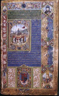 ATTAVANTE DEGLI ATTAVANTI Italian miniaturist, Florentine school (b. 1452, Castelfiorentino, d. ca. 1525, Firenze)  -  Philostratus: Codex Heroica 1487-90 Manuscript National Szйchйnyi Library, Budapest
