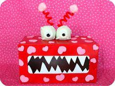 toddler monster posting box - Google Search