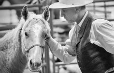Whatever you make easy for the horse, that's what he's going to get good at.