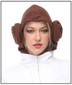 Princess Leia hoodie, yes!