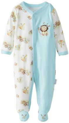 Amazon.com: Vitamins Baby Boys Newborn Lion, Turquoise, 6 Months: Clothing.  This is adorable.