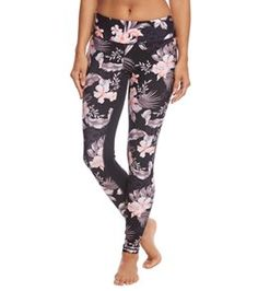 b763ad126 Seafolly Pacifico Active Jungle Floral Tight Seafolly, Swim Shop, Women's  Leggings, Pajama Pants