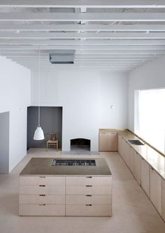 Merrydown by McLaren Excell Source by vanessagoscinny The post McLaren Excell adds wooden loft room to renovated London house appeared first on George Garden Services. Interior Desing, Interior Inspiration, Interior Architecture, Interior And Exterior, Interior Modern, Interior Paint, Deco Design, Küchen Design, Home Design