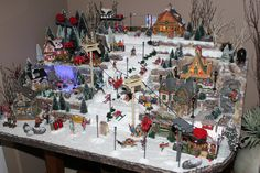 2016 Christmas Village Ski Hill