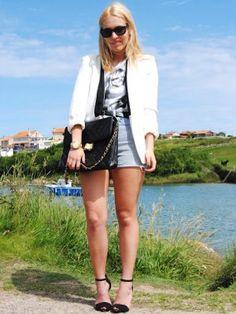 lapetiteblonde Outfit   Verano 2012. Cómo vestirse y combinar según lapetiteblonde el 3-7-2012