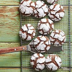 These minty cookies are a chocolate lover's delight. For a sweet snack at your fingertips, make ahead and freeze up to 3 months.