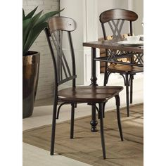Homelegance Loyalton Side Chair - Set of 2