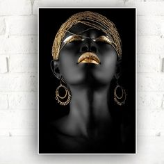 Fashion photography portrait people Ideas - New Site Black Art, Black Women Art, Black Gold, Black And White, Color Black, Art Women, Colour, African Beauty, African Art