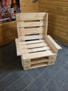 Wood Pallet Garden lounge made of Euro pallets, pallets furniture by Jürgen Lindemann on DaWand …