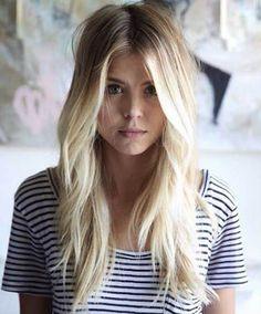 corte para cabello largo