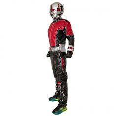 2015 New Movie Ant-Man Cosplay Ant-Man Scott Lang Costumes